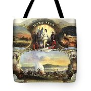 The 14th Regiment New York State Militia Tote Bag by Unknown