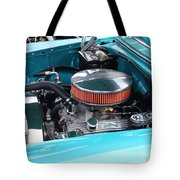 The 327 In A 1955 Chevy Tote Bag