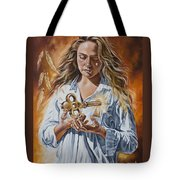 The 7 Spirits Series - The Spirit Of Understanding Tote Bag