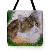 The Abandoned Kitten Tote Bag