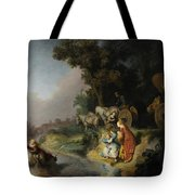 The Abduction Of Europa Tote Bag