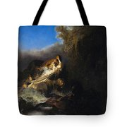 The Abduction Of Proserpina Tote Bag