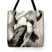 The Abduction Of Psyche By William Bouguereau Tote Bag