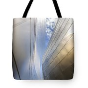 The Abstract Curves Of The Disney Concert Hall Tote Bag