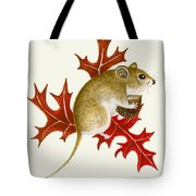 The Acorn Mouse Tote Bag