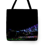 The Admiral In Neon Tote Bag