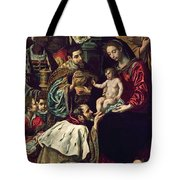 The Adoration Of The Magi, 1620 Oil On Canvas Tote Bag