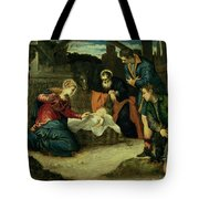 The Adoration Of The Shepherds, 1540s Tote Bag