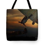 The Air Battle Of Britain Tote Bag