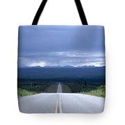 The Alcan Hwy Tote Bag