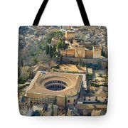 The Alhambra Aerial Tote Bag