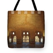 The Alhambra King Room Tote Bag