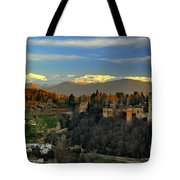 The Alhambra Palace Granada Spain Tote Bag
