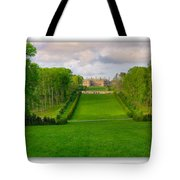 The Allee And The Castle Tote Bag