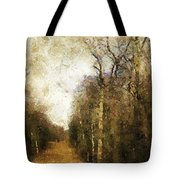 The Allee At Dawn Tote Bag