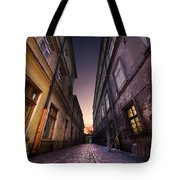 The Alley Of Cracov Tote Bag