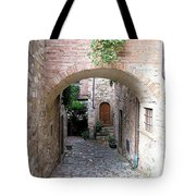 The Alleyway To Home Tote Bag