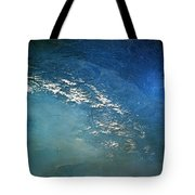 The Alps From Space Tote Bag by Anonymous