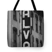The Alva - Black And White Tote Bag