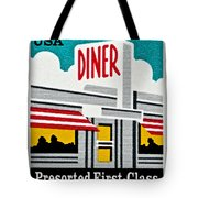 The American Diner  Tote Bag