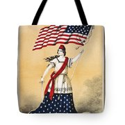 The American Flag A New National Lyric Tote Bag