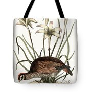The American Partridge Tote Bag