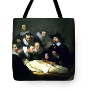 The Anatomy Lesson Tote Bag