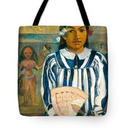 The Ancestors Of Tehamana Or Tehamana Has Many Parents.merahi Metua No Tehamana. Tote Bag
