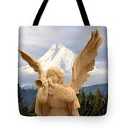 Sounds Of The Angel  Tote Bag
