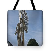 The Angel Of Bargoed 2 Tote Bag