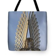 The Angel Of Bargoed 4 Tote Bag