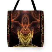 The Angel Of Meditation Tote Bag