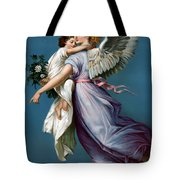 The Angel Of Peace Tote Bag