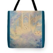 The Angels Choir A Celebration Tote Bag
