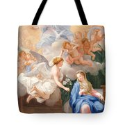 The Annunciation Tote Bag by Giovanni Odazzi