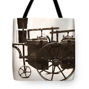 The Antique Farming Machine  Tote Bag