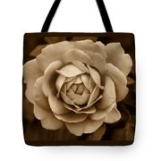 The Antique Rose Flower Tote Bag