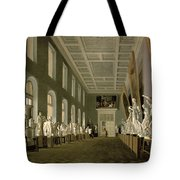 The Antiquities Gallery Of The Academy Of Fine Arts, 1836 Oil On Canvas Tote Bag
