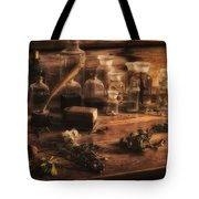 The Apothecary Tote Bag by Priscilla Burgers