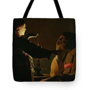 The Appearance Of The Angel To Saint Joseph Tote Bag