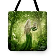 The Apple Fairy Tote Bag