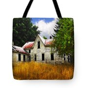 The Apple Tree On The Hill Tote Bag