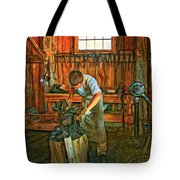 The Apprentice 2 - Paint Tote Bag