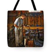 The Apprentice Hdr Tote Bag by Steve Harrington