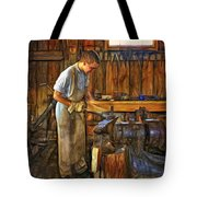 The Apprentice - Paint Tote Bag