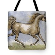The Arabian Mare Running Tote Bag