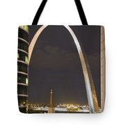 The Arch And Cathedral Tote Bag