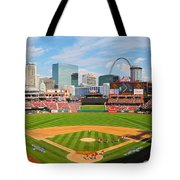 The Arch In The Outfield Tote Bag