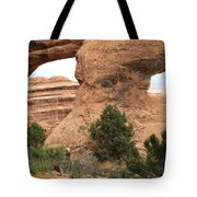 The Arches Of Double O Arch  Tote Bag