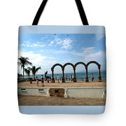 The Arches On The Playa Tote Bag